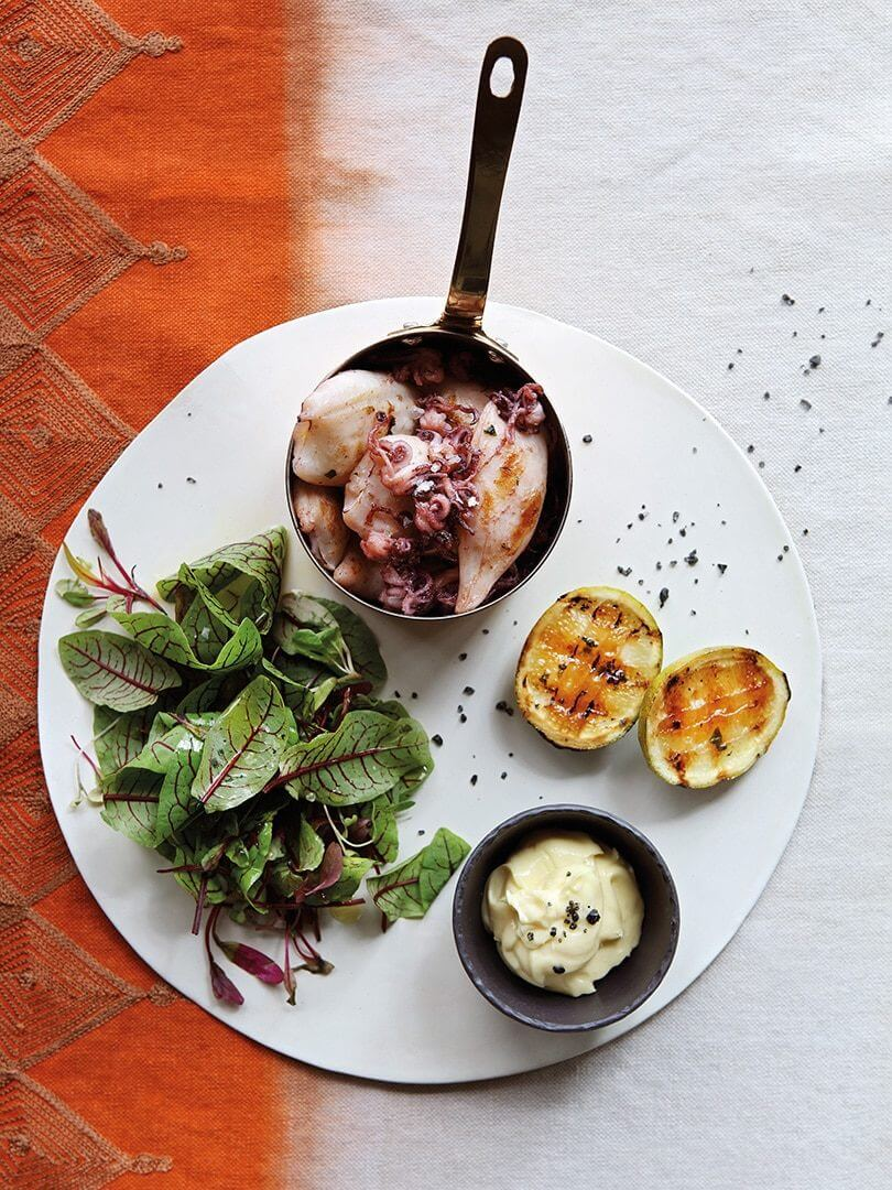 A plate of tasty tapas at Londolozi Private Game Reserve. Photo by Elsa Young.